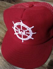 vintage red OHIO river division ARMY CORPS engineers hat