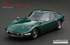 RARE! HPI #8368 Toyota 2000GT Atlantis Green 1/43 Resin Model JDM