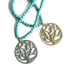 Turquoise Celestial & Horoscope 18k Fashion Necklaces & Pendants