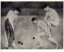 HENRI MATISSE 1935 LITHOGRAPH w/ COA. Superb Print & Extremely Elegant RARE ART