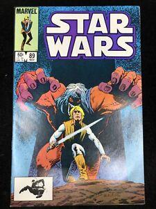 STAR WARS #89 Marvel Comics 1984 LUKE SKYWALKER (9.4 NM)