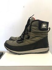 Sorel Plaid Womens Boots Sz 7 Winter nylon Duck