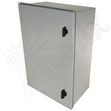 Altelix 24x16x9 Fiberglass NEMA Box 3X Weatherproof Outdoor Equipment Enclosure