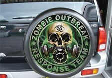 4x4 spare wheel cover zombie out break Semi rigid Land rover, Suzuki, mitsubishi