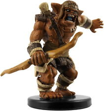 D&D mini BUGBEAR HERO Rise of Runelords Pathfinder Dungeons & Dragons Miniature