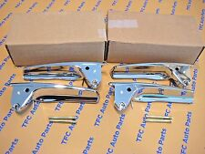 Chevy GMC Cadillac Inside Front Chrome Door Handle Kit with Pins OEM NEW 2