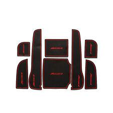 8PCS Nonslip Gate Door Slot Rubber Cup Holder Mat For Honda Accord 8th 08-13
