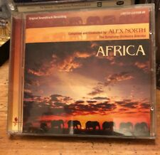 Limited Edition Soundtrack CD : Africa ~ Alex North ~ Symphony Orch. Graunke