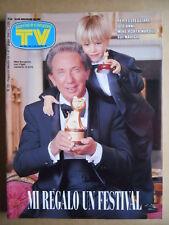 TV Sorrisi e Canzoni n°23 1994 Mike Bongiorno Rita Dalla Chiesa Kim Rossi [G587]