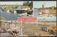 Norfolk Postcard - Views of Great Yarmouth   MB249