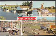 Norfolk Postcard - Views of Great Yarmouth   MB249