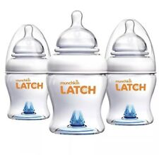 Munchkin Latch Bpa-Free 4 Ounce Bottle, 3 Count- Used