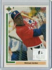 Michael Jordan 1991 Upper Deck #SP1 White Sox Baseball RC l