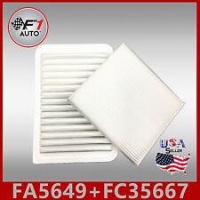 Auto1tech Engine & Cabin Air Filter Fits Toyota Camry 2007-2017 Venza 2006-2016