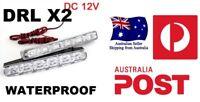 LED Daytime Running Driving Light DRL Fog Ford Falcon AU BA BF FG FPV