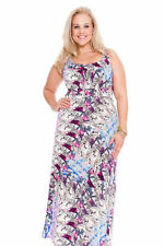 Full Length Paisley Synthetic Maxi Dresses for Women