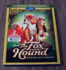 THE FOX AND THE HOUND 1 & 2 Movie Collection BLU-RAY NEW
