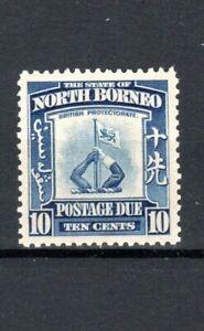 North Borneo 1939 10c Postage Due MNH