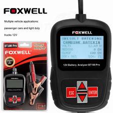 FOXWELL BT10012V Digital Car Battery Analyzer Tester Tool New
