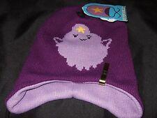 Nwt Adult Adventure Time Lumpy Space Princess Reversible Laplander Beanie Hat CN