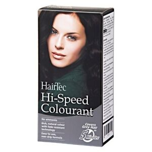 NEW STOCK ! 3 x Cosway : HairTec Hi-Speed Colourant Brownish Black FREE DELIVERY