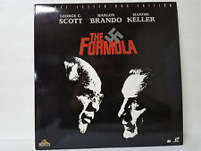 The Formula Deluxe Letter-Box Edition Laserdisc Movie