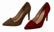 Suede Upper Standard (B) Formal Flats for Women