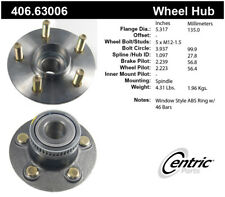 Wheel Bearing and Hub Assembly-Premium Hubs Rear Centric 406.63006