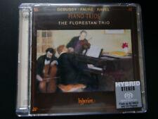 Debussy Fauré Ravel - Piano Trios SACD Florestan Hyperion SACDA67114 - rare OOP