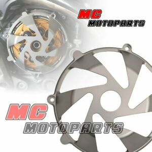 Titanium For Ducati Billet Dry Clutch Cover Supersport 900 750 1000 SS CC15