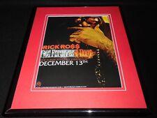 Rick Ross 2012 God Forgives I Don't Framed 11x14 ORIGINAL Vintage Advertisement