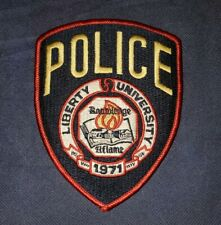 Liberty University, Virginia, Police, Patch, Sheriff, College