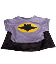 """Batman Batbear Batboy Cape Teddy Bear clothes outfit fit 14"""" - 18"""" build a bear"""