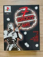 7 Shoot Games Playstation 1 Ps1 Big Box Limited Collector Edition Ovp sealed