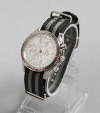Vintage OMEGA Speedmaster Men's Triple Date Chronograph Stainless Steel Watch