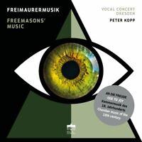 FREIMAURERMUSIK - VOCAL CONCERT DRESDEN/KOPP,PETER   CD NEU