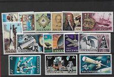 ASCENSION SG135/48, 1971 DECIMAL CURRENCY / SPACE SET MNH