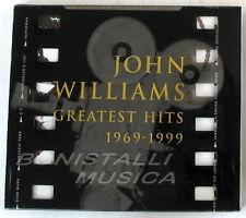JOHN WILLIAMS GREATEST HITS 1969-1999 - SOUNDTRACK O.S.T. - CD Nuovo Unplayed
