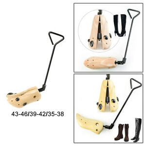 Boot Stretcher Adjustable Width Shoe Shaper Wooden Cowboy Boot Tree Unisex