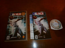 COMPLETE VG MLB (Sony PSP, 2005) Baseball Video Game PlayStation Portable