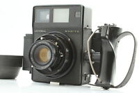 *EXC+5* Mamiya Universal Press + Sekor 100mm f/3.5 Lens Film Back From JAPAN