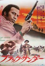 LEGEND OF NIGGER CHARLEY Japanese B2 movie poster FRED WILLIAMSON BLAXPLOITATION