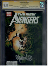 New Avengers 51 Bachalo Variant Cover CGC 9.8 SS Bachalo Signature Series