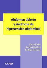 Abdomen abierto y sindorme de hipertensión abdominal. ENVÍO URGENTE (ESPAÑA)
