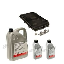 For BMW 7 Liters Auto Trans & Filter Kit Fluid ATF Febi Equivalent to Shell