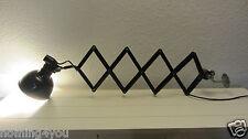 Rademacher Scherenlampe Arbeits Leuchte Schreibtisch Lampe 30er 40er Jahre antik