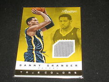 DANNY GRANGER PACERS CERTIFIED GENUINE AUTHENTIC BASKETBALL JERSEY CARD RARE