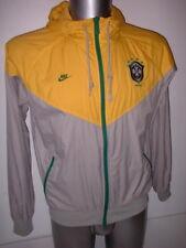 Brazil Nike Jacket Adult S Football Soccer Shirt Training Brasil Hooded BNWOT