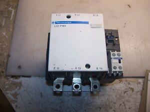 SCHNEIDER 125 HP 200 AMP CONTACTOR 115-120 VAC COIL LC1F185
