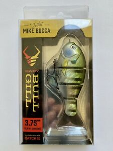 "Catch Co. ""Triton"" Mike Bucca Baby Bull Gill 3.75"" Swimbait (Bluegill) NIB"